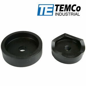 Temco 3 Conduit Punch And Die For Hydraulic Knock Out Driver 3 4 16 Thread