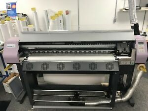 Mimaki Jv3 130 Sp Ii Large Format Printer Used