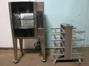 resfab Lm 24a Hd Commercial 3ph Electric Digital Chicken rib Rotisserie Oven