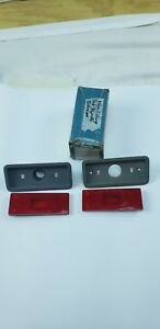 Mopar Nos 1970 Plymouth Gtx Road Runner Front Side Marker Lamp Light Assemblies