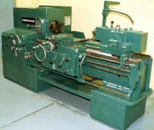 20 X 30 American Heavy Duty Engine Lathe Yoder 9778