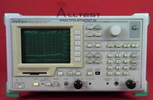 Anritsu Ms2623b Spectrum Analyzer 9 Khz To 6 5 Ghz With Tracking Generator