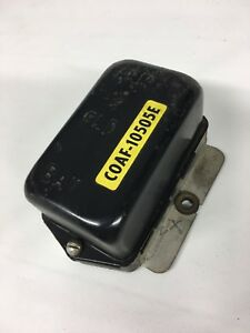 Nos 1960 1962 Ford Galaxie T bird Voltage Regulator C0af 10505 e Autolite