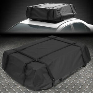 Dirt Water Resistant Roof Top Rail Cargo Bag Travel Storage Luggage W Abs Base