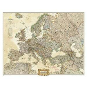 National Geographic Maps Re01020626 Europe Wall Map Mural