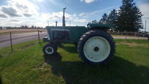 Oliver 770 Narrow Front Gas Tractor Flat Fenders Showing 3959 Hours