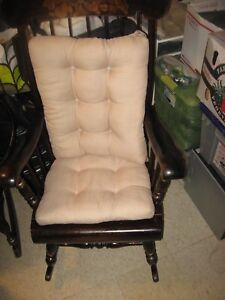 Ethan Allen Rocking Chair Rocker Stenciled