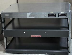 Hatco Glo ray Grtb 29 Countertop Heated 2 Shelf Food Warmer Merchandiser