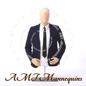 Ymt2 ft Male Torso stand Head Rotate Amt mannequins Plastic Dress Form