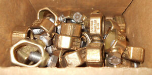 Lot Of 25 New G 5b Ground Rod Reebar Clamps 1 2 5 8 10sol 2str