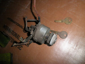 Willys Jeep F Head 4 Cyl Truck 4x4 Ignition Switch And 2 Keys 49 56