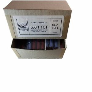 Jumbo Tot Pencil Round 10mm Metallic Blue And Red Med Soft Core box Of 72