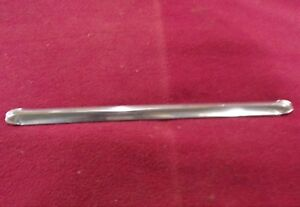 1949 1950 And I951 Ford Convertible Used Windshield Center Stainless Bar