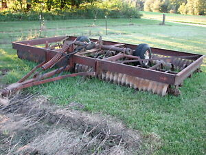 International 315 15 Culti packer Mulcher In Good Shape