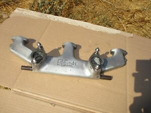Edmunds Custom Intake Manifold Chevy 216 May Fit 235 Too