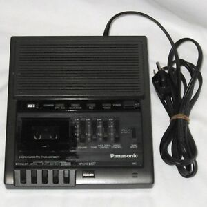 Panasonic Rr 930 Microcassette Tape Dictation Transcriber Recorder Desktop