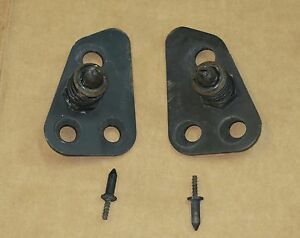 1984 1996 Corvette C4 Hood Latch Set Complete With Locating Pins Great Condition