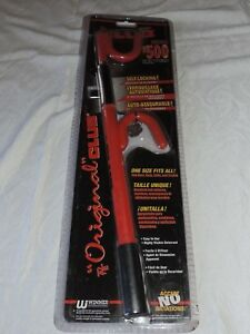 The Club 1000 Original Steering Wheel Lock Anti Theft Device For Cars Red New