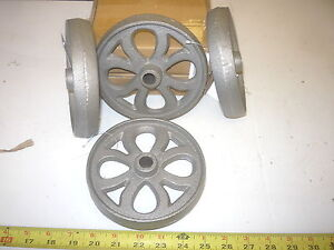 4 Cast Iron Wheel Gas Engine Maytag Garden Cart Barbecue Grill