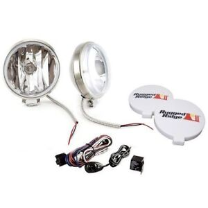 New Off Road Fog Light Kit 100w 6 Slim Stainless Jeep Ford Dodge Gmc X 15208 58