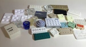 Dental Bur Blocks Dappen Dishes Assorted Huge Lot