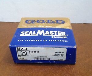 Sealmaster Sf 16t Standard Duty Flange Unit 4 Bolt Regreasable