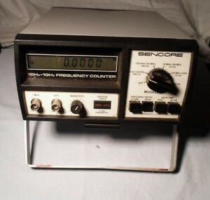 Sencore Model Fc 71 Frequency Counter Good Condition With Probes