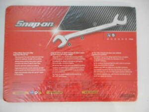 Snap On Tools 7 Pc Metric Open End 4 way Angle Head Wrench Set Pakld176 New