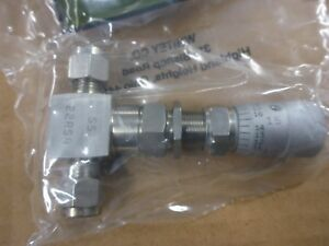 New Swagelok Whitey Ss 22rs4 a Low Flow Gas Metering Valve Ss Parker Hoke