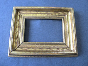 Vintage Gilt Decorated Wooden Picture Frame 8978c