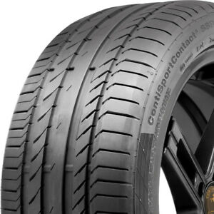 1 New 225 40 18 Continental Contisportcontact 5 Tire 225 40 18