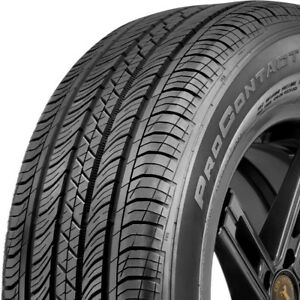 2 New 225 55 18 Continental Procontact Tx All Season Touring Tires 225 55 18