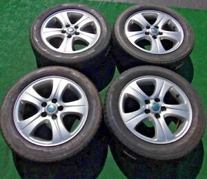 Set Of 4 Genuine Original Oem Factory Jaguar X Type Xtype Stock 16 Wheels Tires