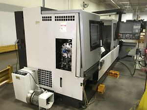 2016 Okuma Model lb4000exii Spaceturn Cnc Lathe Stock 68576