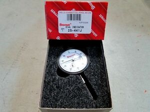 Starrett 53295 25 441j Dial Indicator Universally Fitting New In Box