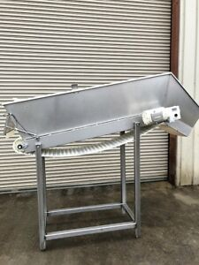 Conveyor 18 X 70 Incline Cleated Belt 2 Food Product Conveying