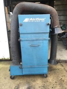 Airflow Systems Industrial Smoke Fume Collector 3hp 460v 3ph Pac91 ia del Arm