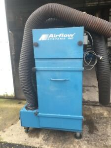 Airflow Systems Inc Industrial Smoke Fume Collector 3hp 460v 3ph Pac91 ia