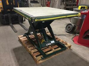 Southworth 2 000 Lb Backsaver Lift Table 42 X 48 115v Hydraulic Ls2 36