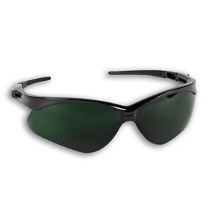 Armour Guard Iruv Shade 5 Lens Black Frame Fog Free Safety Glasses