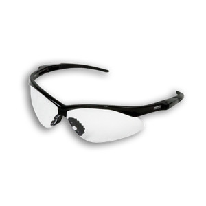 Armour Guard Clear black Frame Fog Free Safety Glasses