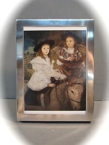 Tiffany Sterling Picture Frame Historic Piece Dorothy Weir