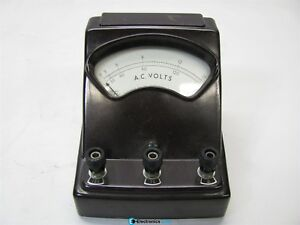 Sargent welch Scientific Ac Volt Meter 3081a