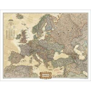 National Geographic Re00620323 Map Of Europe Executive