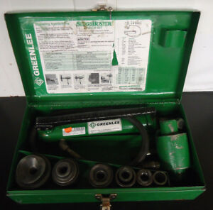 ri2 Greenlee 767 Slug Buster Punch Set