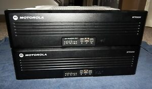Motorola Mtr3000a Vhf Base Station repeater T7713a Satellite Receiver Mtr3000