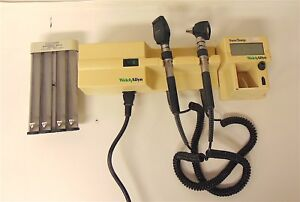 Welch Allyn 767 Transformer Otoscope Ophthalmoscope With Heads 11710 S3713