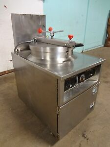 B K I Commercial H d Extra Large Capacity 75lbs Electric Pressure Fryer