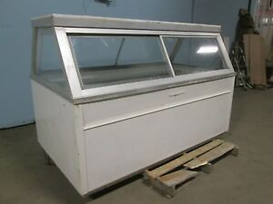 hussmann Qim 6 H d Commercial Refrigerated Lighted Deli meat Display Freezer