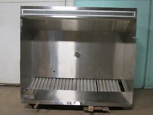 sta kool Hd Commercial nsf 86 w Double Compensating Ss Kitchen Exhaust Hood